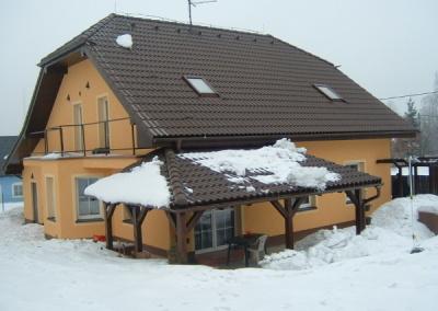 Zateplení fasád rodinných domů